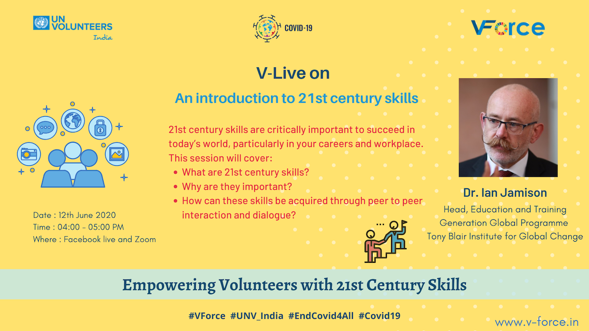 12 June An introduction to 21st Century Skills