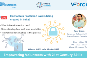 How a Data Protection Law is being created in India! | V-Force India
