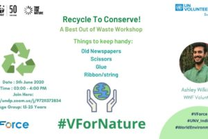 Recycle to Conserve 5 June