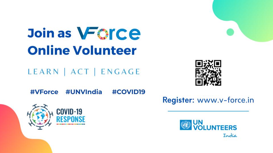 COVID 19 Campaign UNV India V-Force